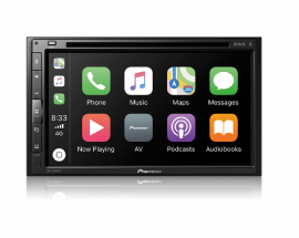 Dvd Player Pioneer Avh-z5280tv Bluetooth Waze Spotify Tv digital Gps